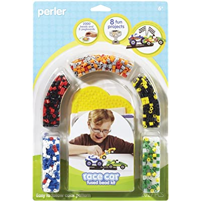 Perler Beads Racecar Fused Bead Crafts for Boys, 2000 pcs: Arts, Crafts & Sewing