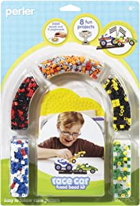 Perler Beads Racecar Fused Bead Crafts for Boys, 2000 pcs