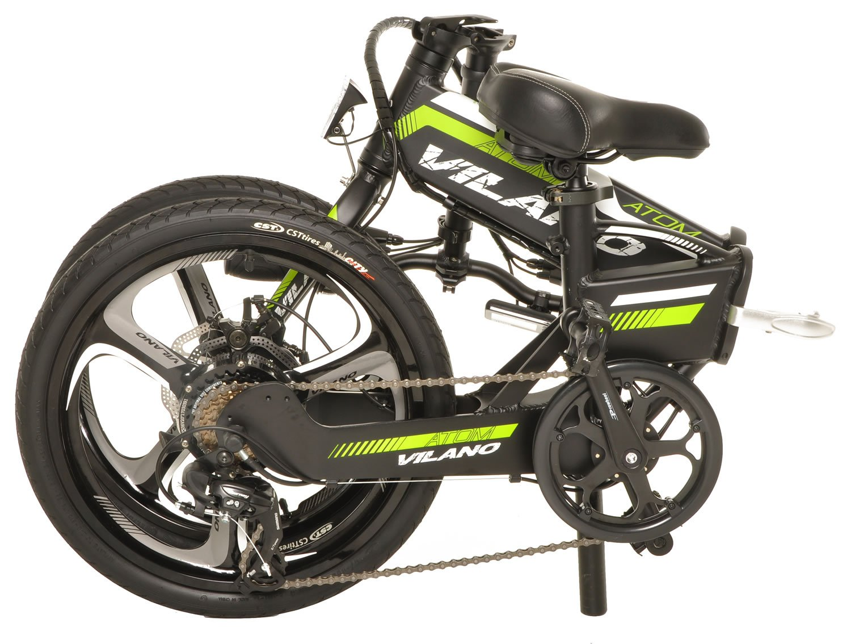 Vilano ATOM Electric Folding Bike, 20-Inch Mag Wheels by Vilano (Image #3)