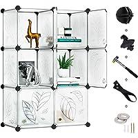 Greenstell 6 Cubos Organizadores para Almacenamiento con Puertas