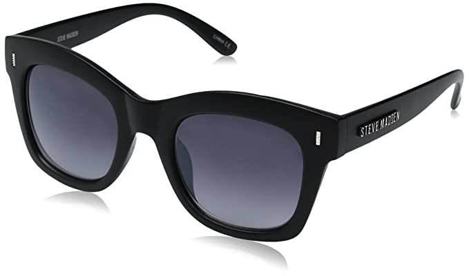 017f8f935cdf Amazon.com  Steve Madden Women s Olivia Retro Square Sunglasses ...