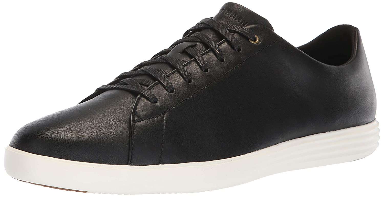 noir-optic blanc Cole Haan Grand Crosscourt, paniers Homme