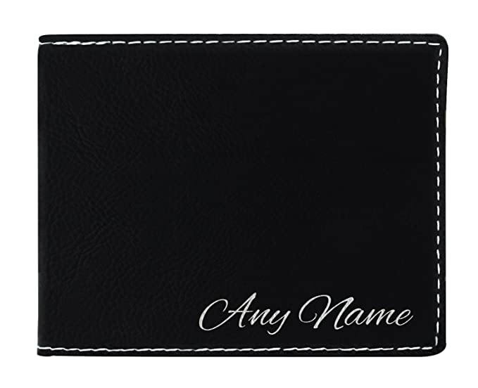 Amazon com: Personalized Wallets for Men Custom Your Name