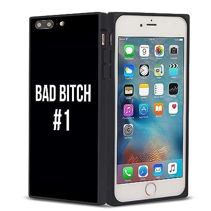 Amazon.com: Bad Bitch - Carcasa de silicona y TPU para ...