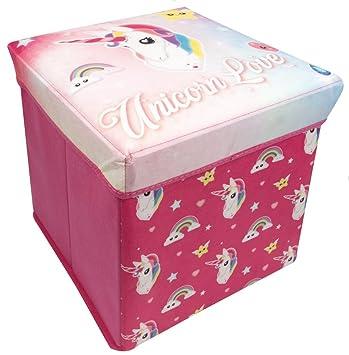Little Helper wd56394 - Unicornio De Peluche/Caja de Almacenamiento, 30 x 30 x 30 cm: Amazon.es: Juguetes y juegos