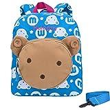 Backpack for Girls - Hulegny Bear Animals Kids Book Backpack Baby Girls School Bag