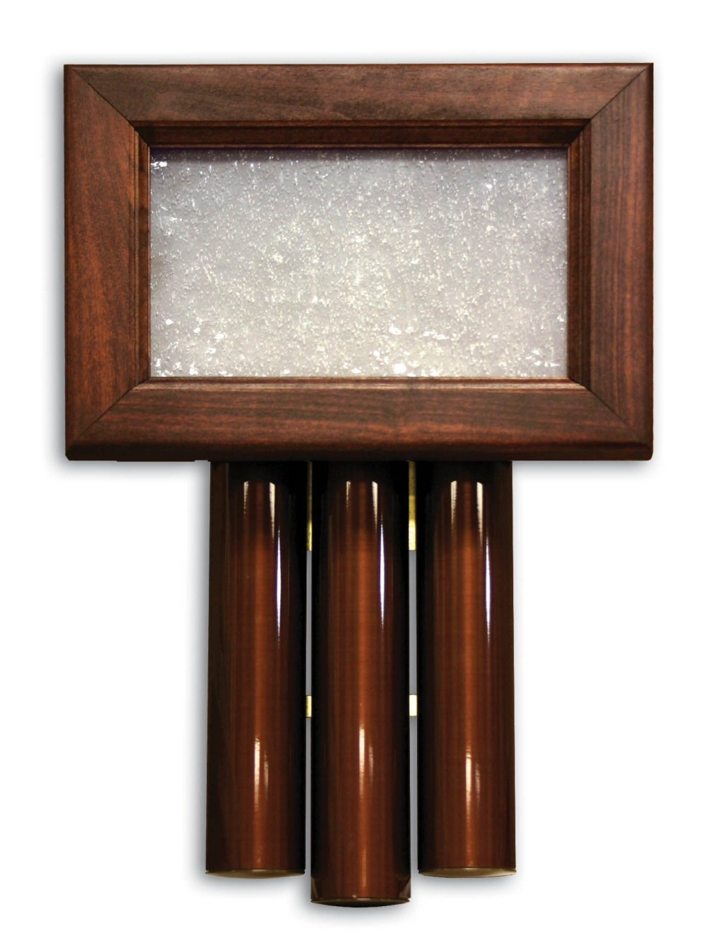 Heath Zenith 61 Wired Door Chime With Solid Beech Mahogany Finish Cover And  Oil Rubbed Bronze Tubes   Doorbell Chimes   Amazon.com