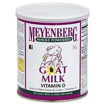 Meyenberg Powdered Goat Milk, Vitamin D, 12 oz Cans, 3 pk