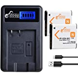 cargador de mesa para cámara Sony Cyber-shot dsc-qx30 Bateria estación de carga