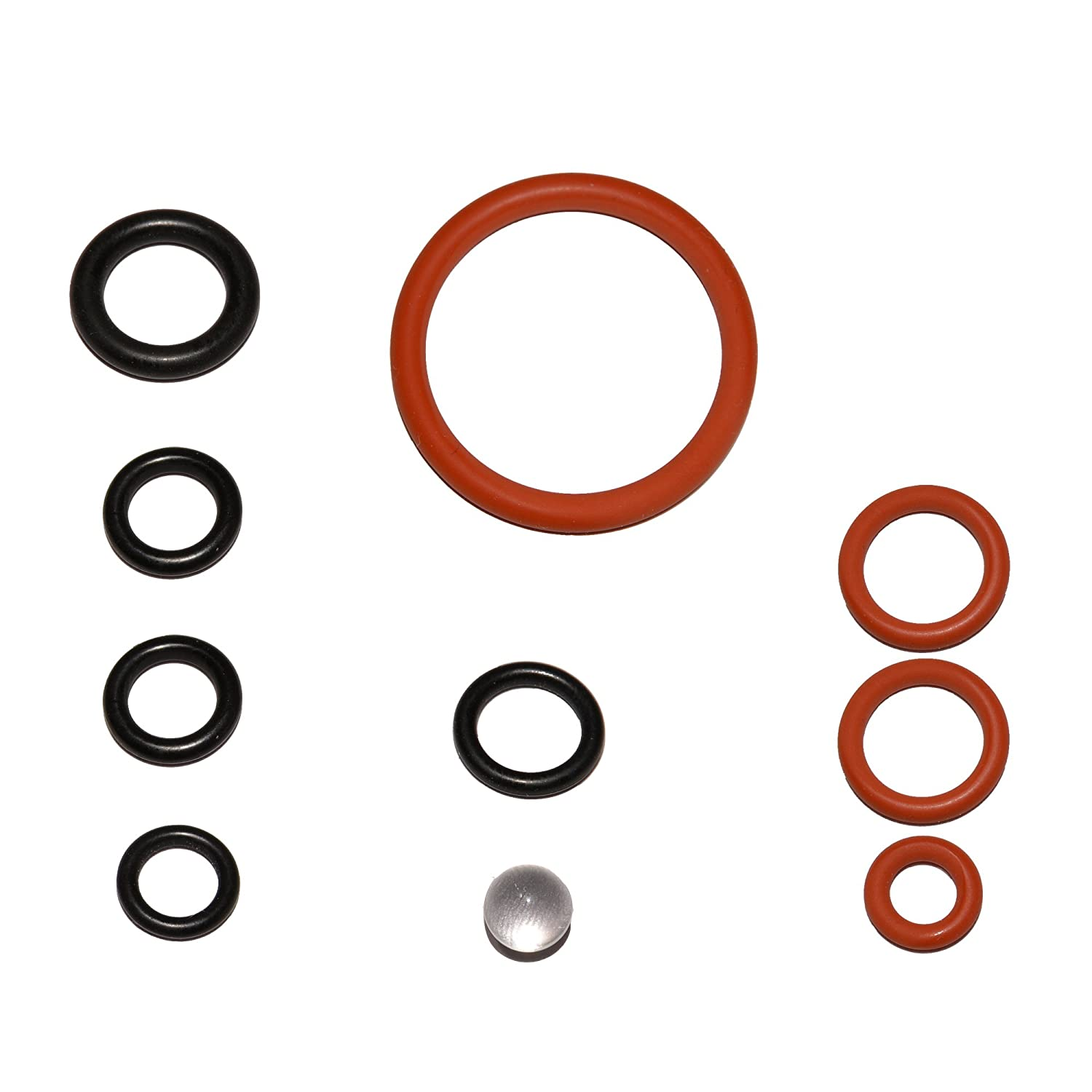 Saeco Spidem Miele Gaggia Krups Solis Bosch Siemens Gasket Set O-Ring Seal for Brewing Units + Support Valve Set/1 Snapworld-Kaffee