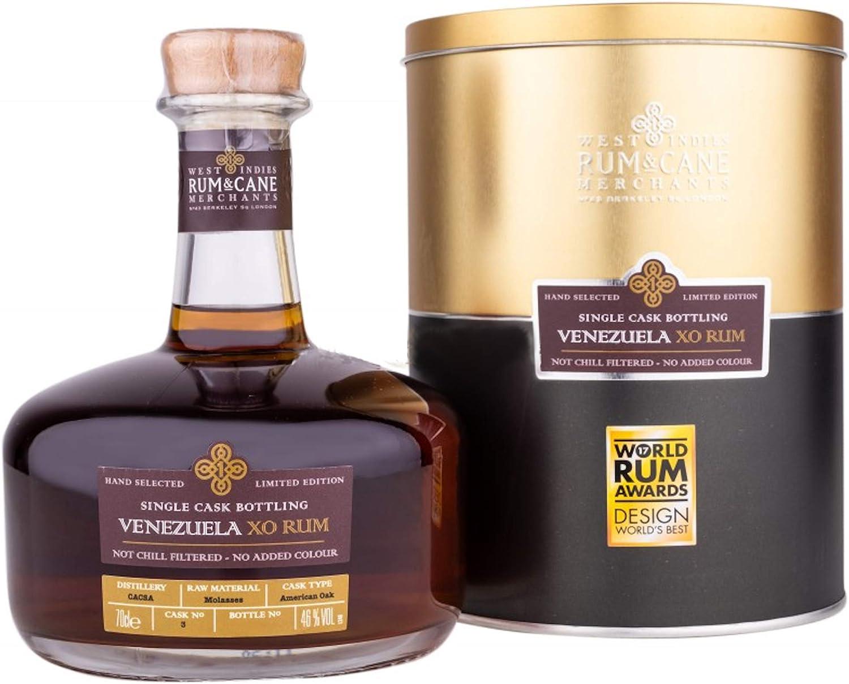 Venezuela XO Rum - Single Cask Bottling of 351 bottles. The ...
