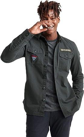 Superdry M4000013A Camisa Hombre