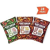 Knusprige Grillen Geröstete Snacks by Eat Grub (Gemischter Geschmack 24er Pack)