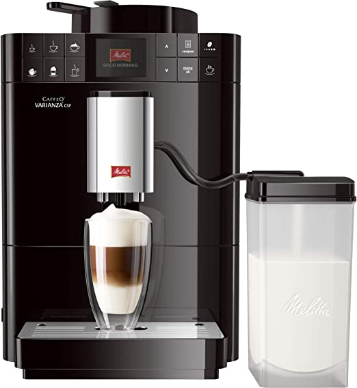 Melitta Varianza CSP Independiente Totalmente automática Máquina espresso 1.2L Negro - Cafetera (Independiente, Máquina espresso, 1,2 L, Molinillo integrado, 1450 W, Negro): Amazon.es: Hogar