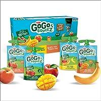 Go Go Squeez Fruit Sauce, Variety Pack (Apple/Apple Peach/Apple Mango/Apple Banana), 1,440g per Unit (16 X 90g per Pouch)