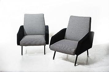 n.d. Par de sillones de Ottime Condiciones producción Italia ...