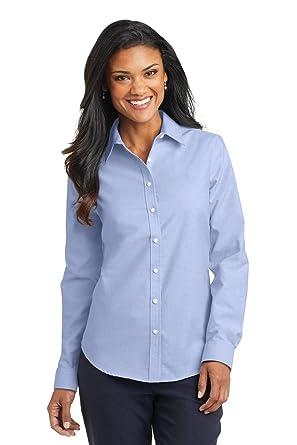 533b2e62f85 Port Authority Ladies SuperPro Oxford Shirt at Amazon Women s Clothing  store