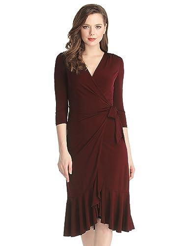 Grapent Women's 3/4 Sleeve Ruf...