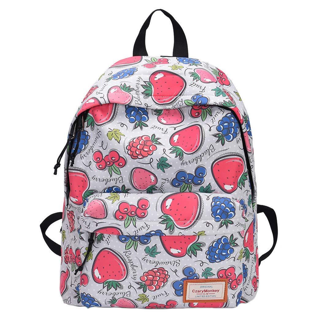 Travel Backpacks Graffiti Shoulder Bag Leisure Daypack Large Capacity School Book Bag Lightweight Backpack By Lmtime(B)