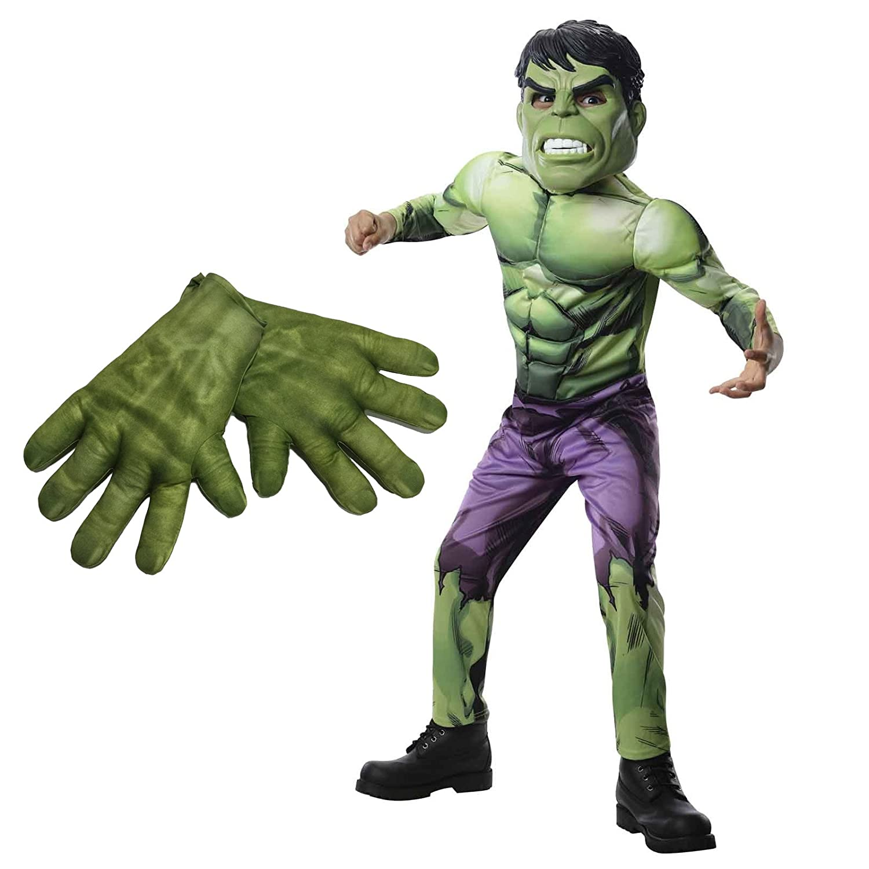 Birthday Express Kit de Disfraz de Hulk de Los Vengadores Montar L ...