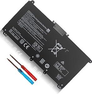 Shareway 11.55V 3470mAh HT03XL 3ICP6/60/80 Laptop Battery Fit for HP Pavilion 14-CE 14-CF 14S-CF 15-CS 15-DA 15-DB 15-CW 17-CA Series HSTNN-LB8M HSTNN-DB8R HSTNN-LB8L L11421-2D2 HTO3XL