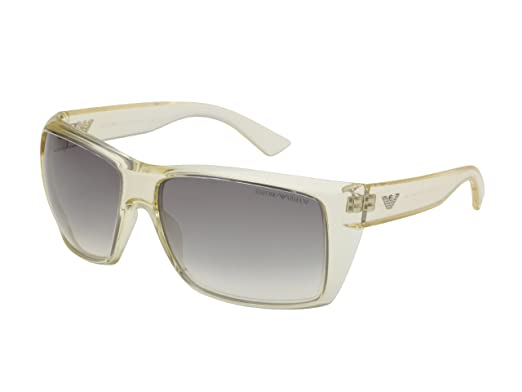 d85bc15e815b New Emporio Armani Sunglasses EA 9797 EA9797 YWG O0 Light Yellow Clear  Italy Men  Amazon.co.uk  Clothing