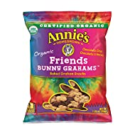 Annie's Organic Bunny Grahams Snack, Friends, 100Count
