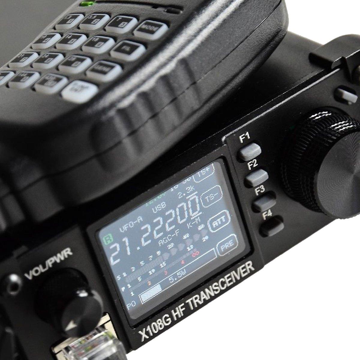 Xiegu X-108G QRP Transceiver Outdoor Version 9 Bands AM/SSB/CW 1-20 watts Black by Xiegu (Image #2)