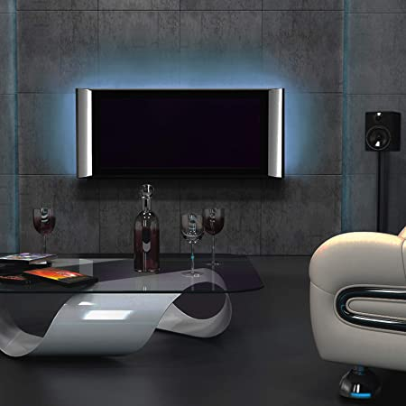Striscia LED - per TV 15,6-22 Pollici, RGB 5050, 12V, Autoadesiva, con  Telecomando, 16 Colori e 4 Effetti - Retroilluminazione LED, Striscia  Luminosa