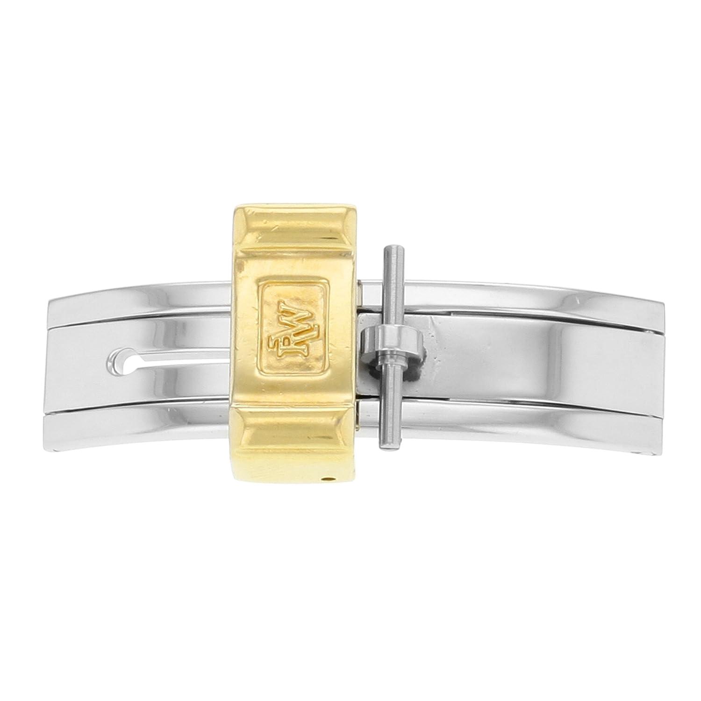 Raymond Weil 12 mm Bicolor Edelstahl Armbanduhr Schnalle