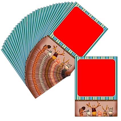 Tarjeta Noel personalizable (tarjeta personalizada) - 32 ...