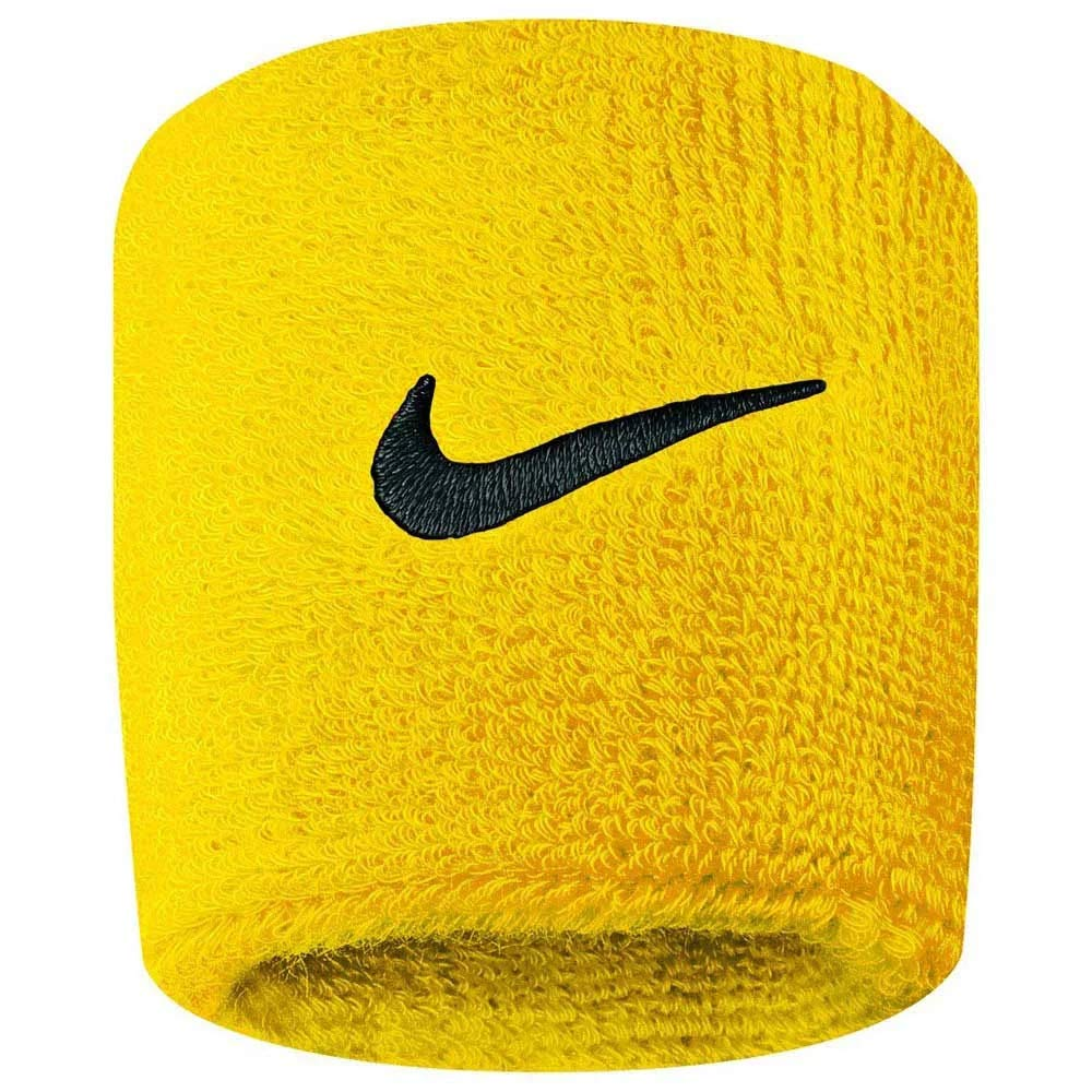 Nike Swoosh Wristband (Yellow) by Nike (Image #1)