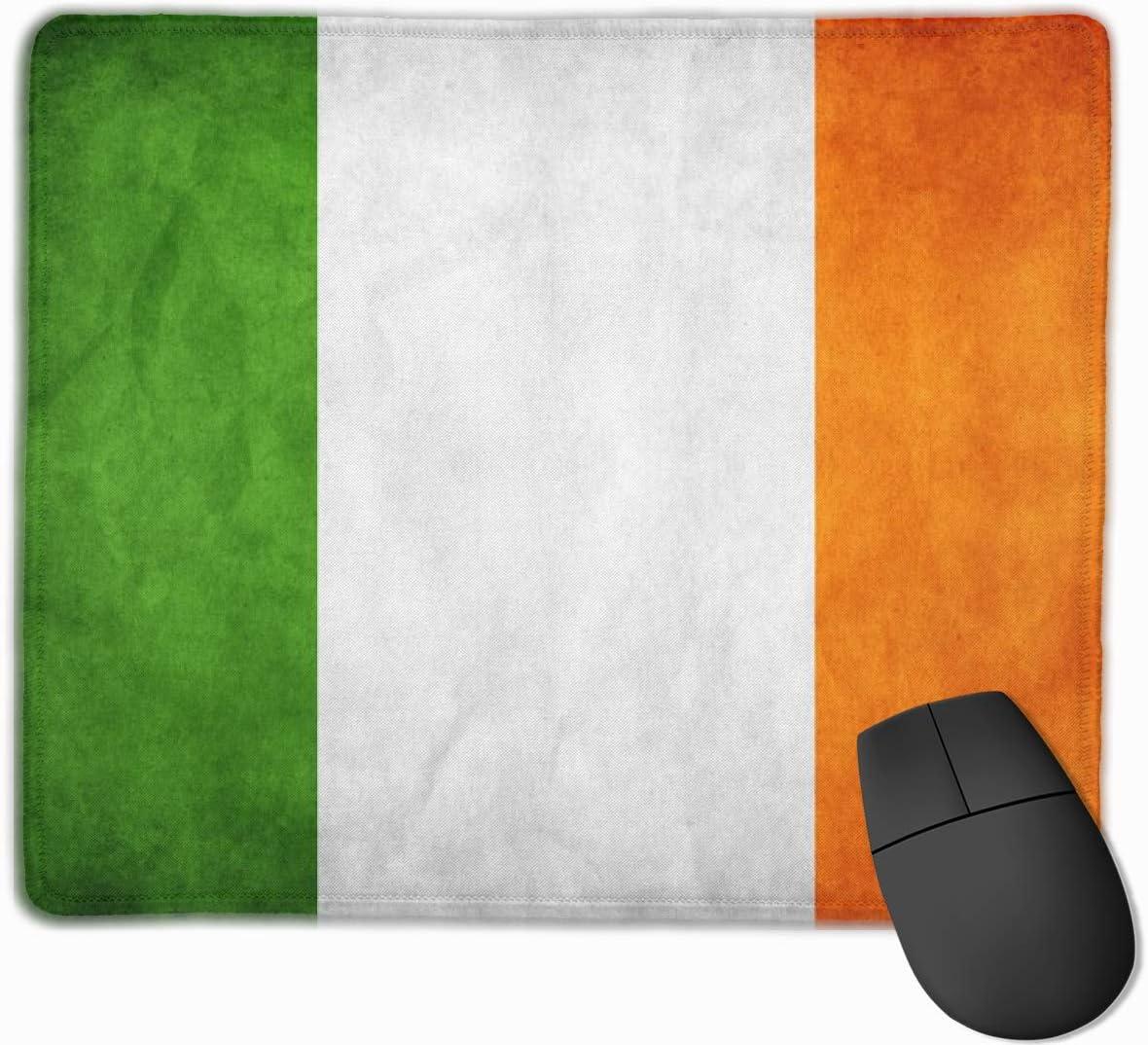 CGMYYXG Alfombrilla de ratón Irlanda Grunge Bandera Rectángulo ...