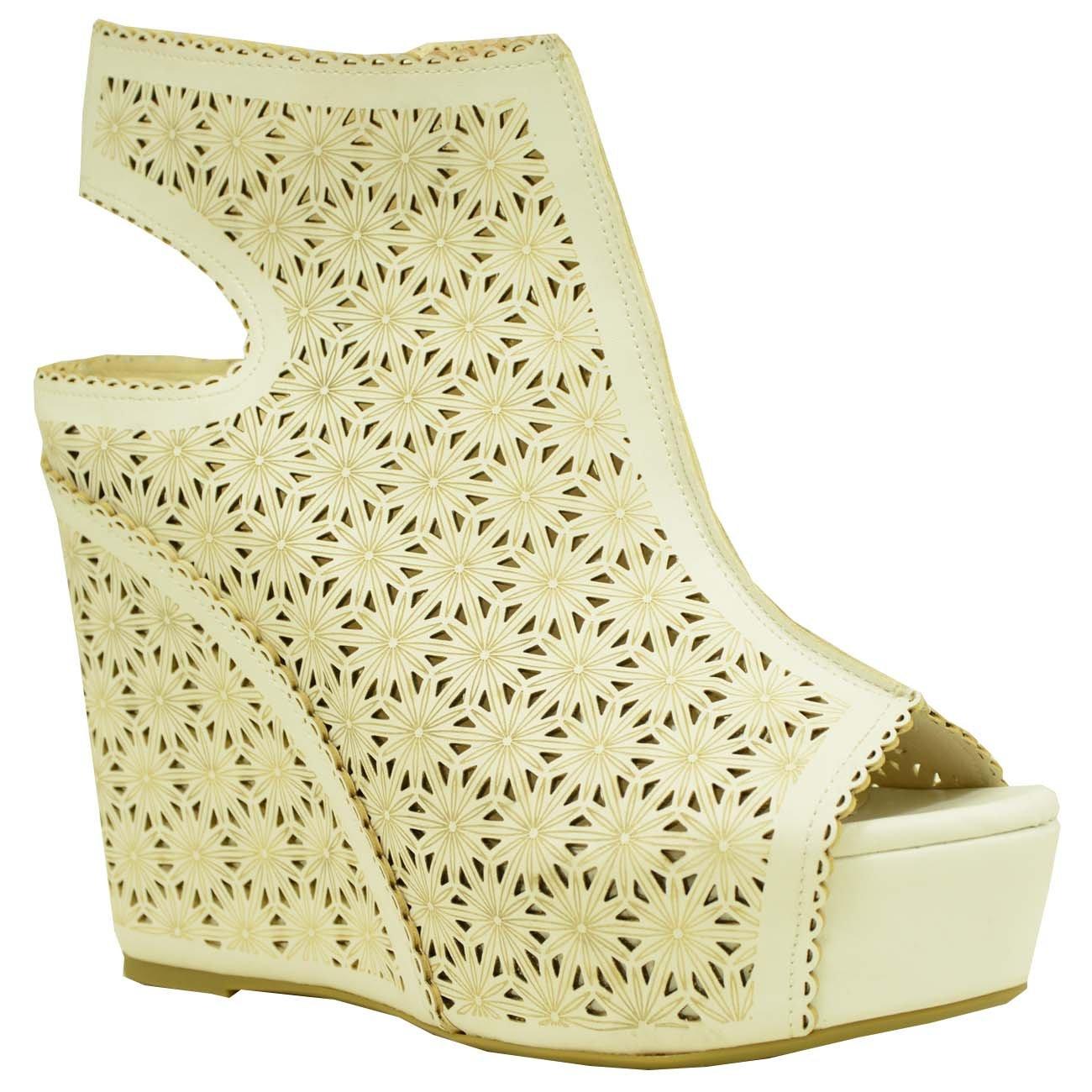 Cucu Fashion Strap Alla Caviglia Donna, Rosso (Rosso), 35.5
