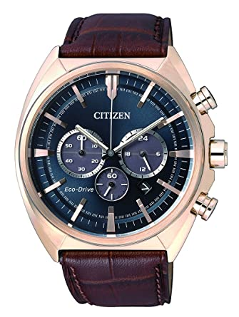 Citizen de Hombre Reloj de Pulsera Cronógrafo Cuarzo Piel ca4283 - 04L: Citizen: Amazon.es: Relojes