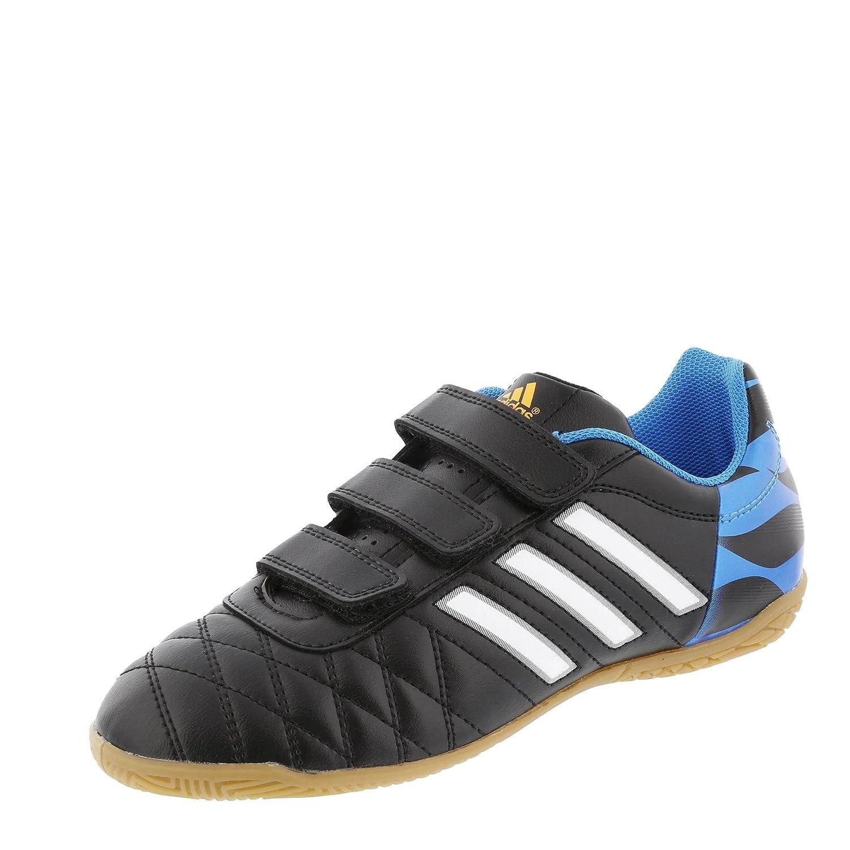 Adidas Hallenfussballschuhe 11 questra In Kinder Junior Kinder H&l Cschwarz ftwwht solblu, Größe Adidas 6.5