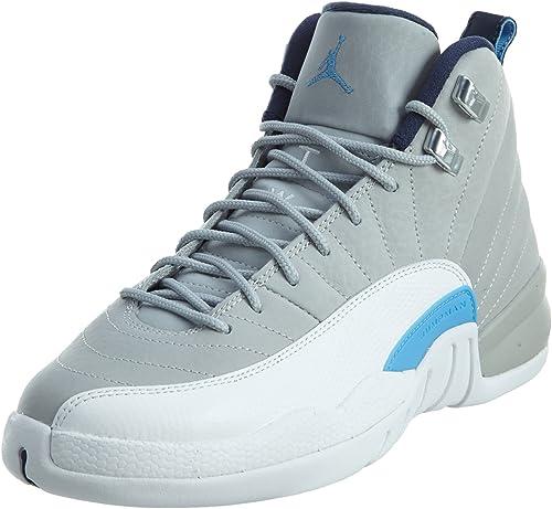 Nike WLF Gry/Unvrsty Bl-White-Mid N, Zapatillas de Baloncesto para ...