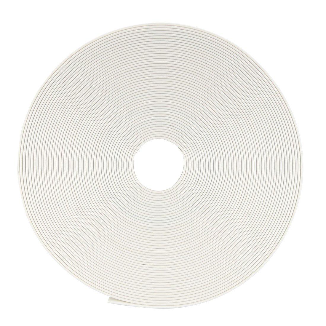 Sourcingmap Tubo termorretr/áctil 2:1 Tubo de aislamiento el/éctrico Cable Tubo Envoltorio Blanco 10 mm Di/ámetro 10 m Longitud
