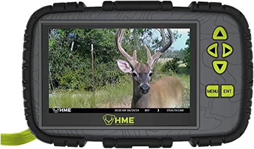 HME SD Card Reader Viewer w 4.3 LCD Screen