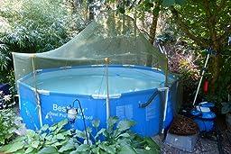 bestway 56059 frame pool steel pro set mit filterpumpe. Black Bedroom Furniture Sets. Home Design Ideas