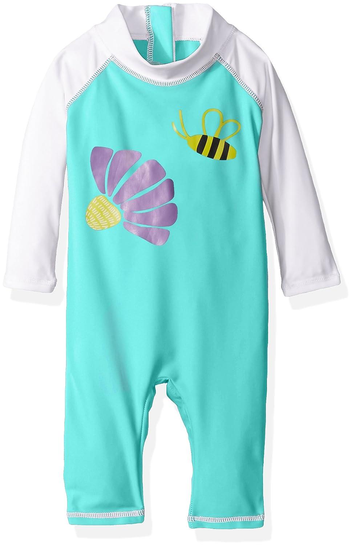 Flap Happy Baby Girls' UPF 50+ Graphic Rash Suit RPI7AZ-P