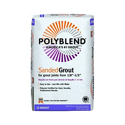 Polyblend Sanded Tile Grout Polyblend Grout Colors Amazon