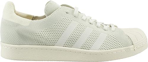 adidas Superstar 80's Primeknit Homme Baskets Mode Blanc
