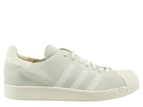 official photos 41d4f cb5ed adidas Originals Superstar 80s PK Mens Running Trainers Sneakers (UK 10 US  10.5 EU 44 2/3, White Grey S75671)