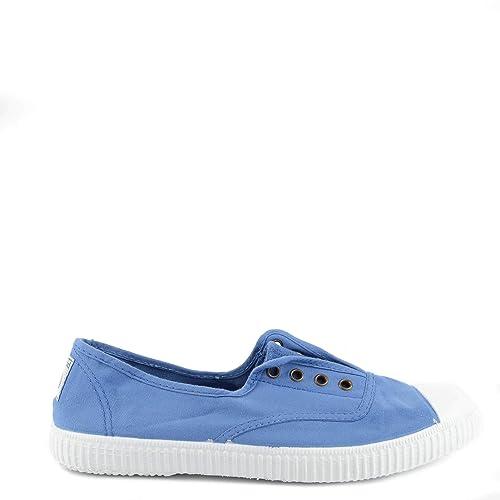 Victoria Shoes Dora Anil Zapatillas celestes, Zapatillas de Lona, Zapatillas Azules, Zapatillas de Mujer: Amazon.es: Zapatos y complementos