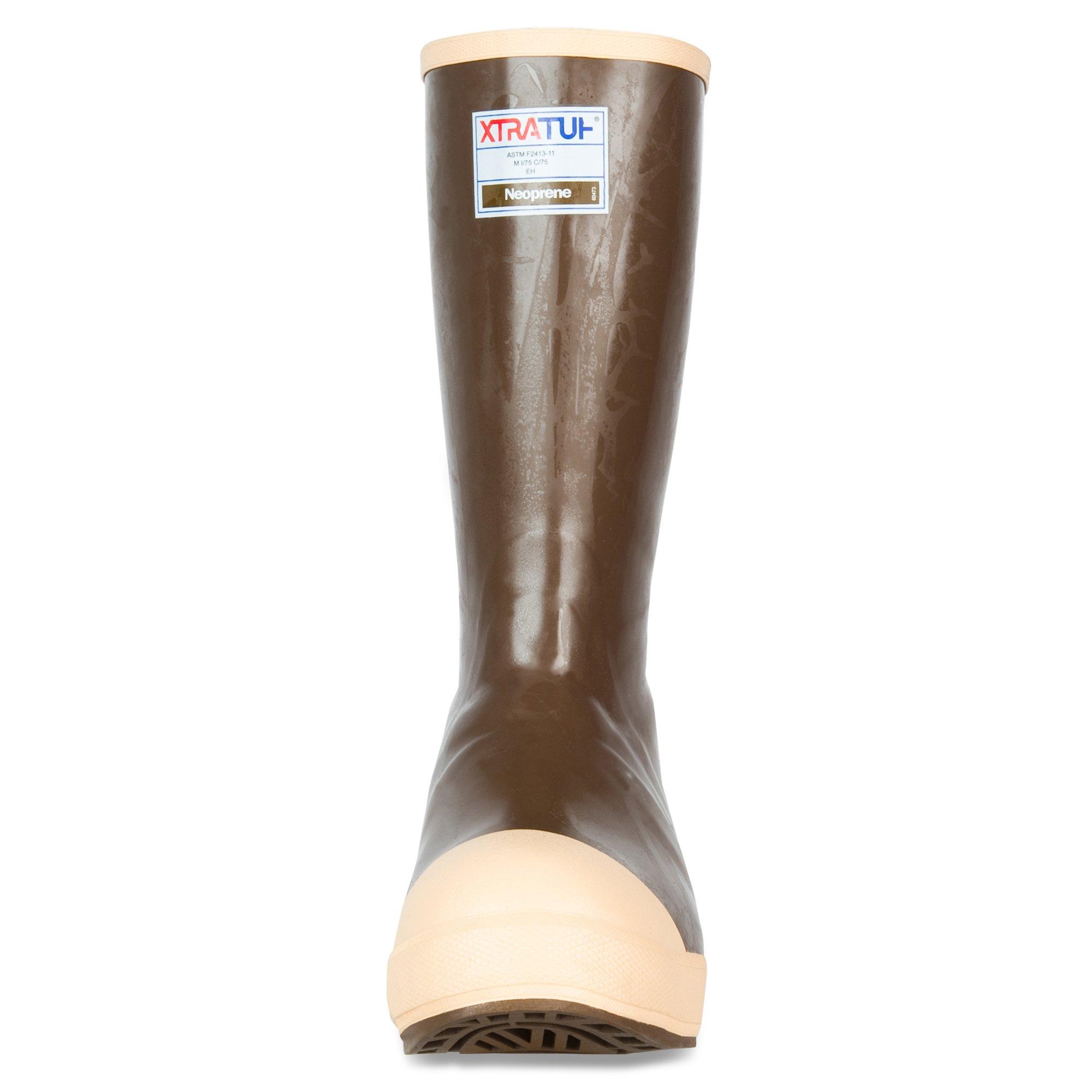 XTRATUF Legacy Series 15'' Neoprene Steel Toe Insulated Men's Fishing Boots, Copper & Tan (22273G) by Xtratuf (Image #1)