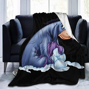 NOT Acmiran Eeyore Ultra-Soft Blanket Winter Bed Sofa Home Office Quilt