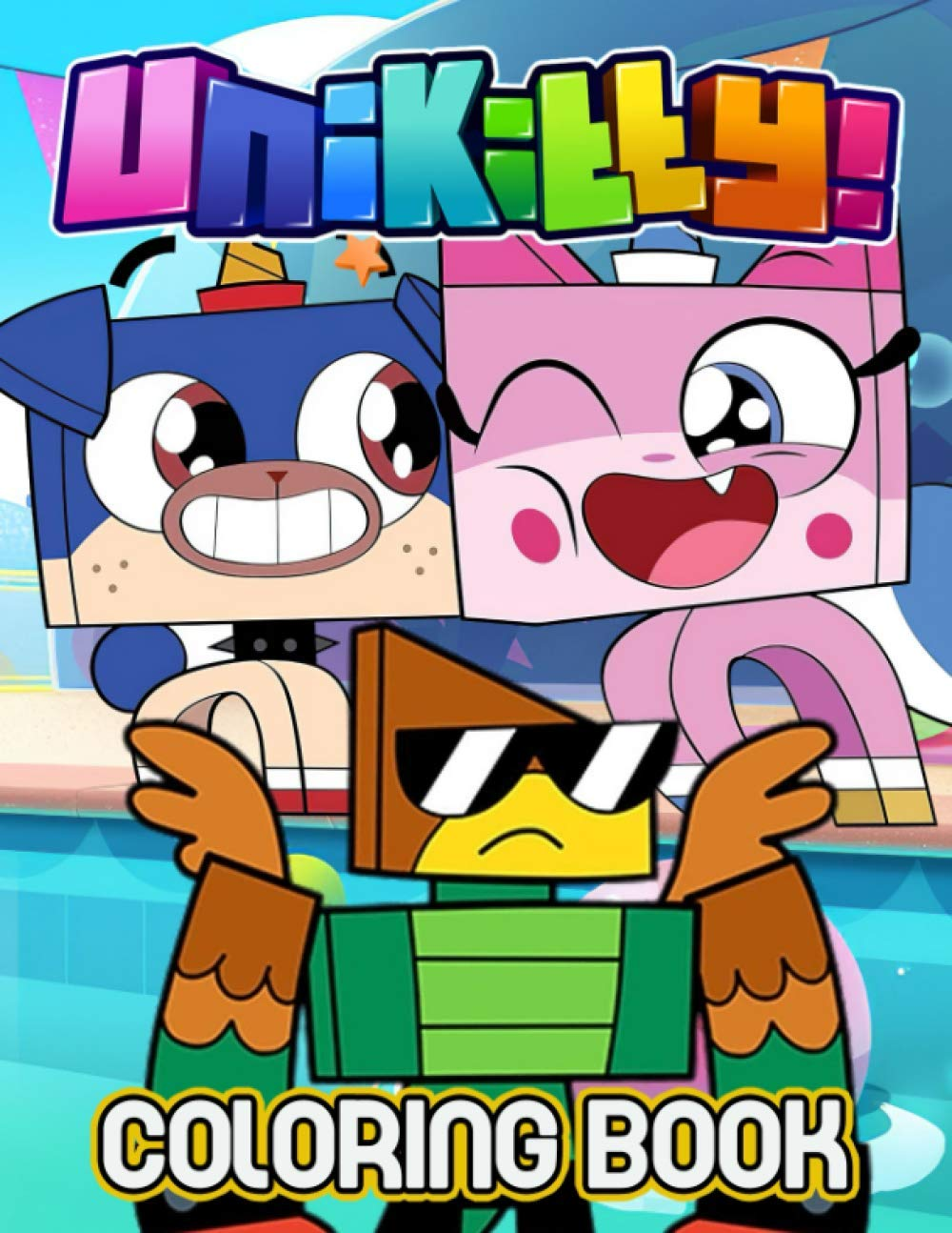 Unikitty Coloring Book Amazing Coloring Book For Those Who Love Unikitty With Incredible Designs To Color And Challenge Creativity Nelson Bruce 9798684297892 Amazon Com Books