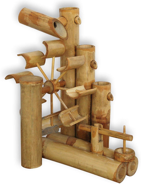 Abverkauf Wasserspiel Bambus inkl Plastikschlauch ohne Pumpe
