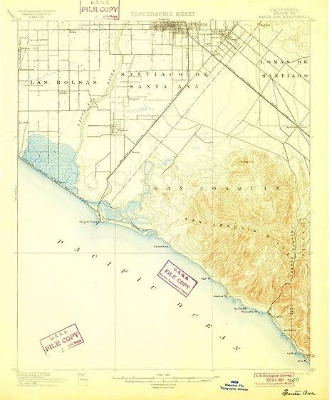 Amazon.com : YellowMaps Santa Ana CA topo map, 1:62500 Scale ... on solano beach ca map, ridgecrest ca map, n hollywood ca map, anaheim ca map, san ysidro ca map, hacienda ca map, fountain valley ca map, chicago ca map, san bernardino ca map, downey ca map, fort worth ca map, la purisima mission ca map, seal beach ca map, palm desert ca map, palo alto ca map, puente hills ca map, fresno ca map, las vegas ca map, baldwin lake ca map, newport harbor ca map,
